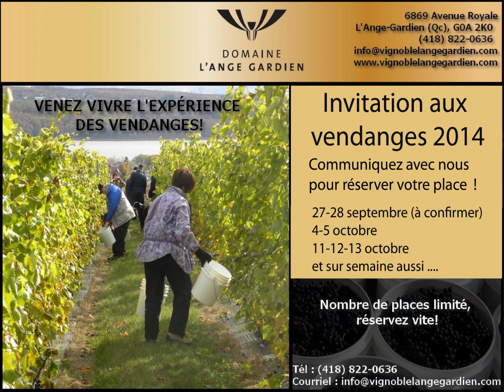 invitation vendanges 2